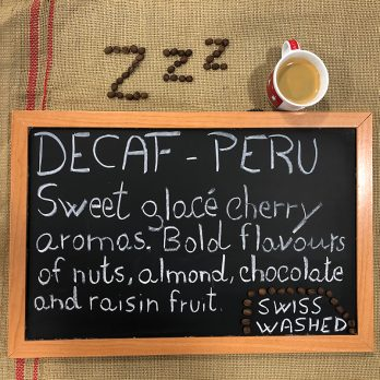 Decaffeinated Peru